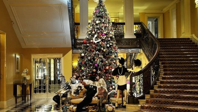 Christmas Tree at Claridge's 2014, Dolce & Gabbana