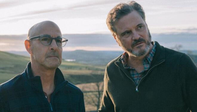 Stanley Tucci and Colin Firth in Supernova (Photo: image.net)