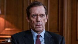 Hugh Laurie in Roadkill, BBC One (Photo: BBC)