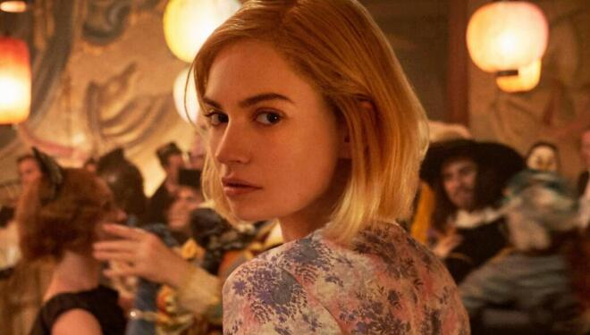 Lily James in Rebecca, Netflix (Photo: Netflix
