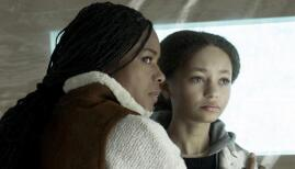Naomie Harris and Nico Parker in The Third Day, Sky Atlantic (Photo: Sky)