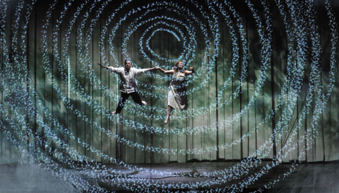 ENO The Magic Flute - Ben Johnson and Devon Guthrie © Robbie Jack