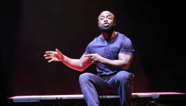 Michael Balogun in Death of England: Delroy (credit: Normski Photography)