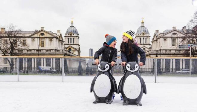 The Queen's House ice rink (credit: Royal Museums Greenwich)