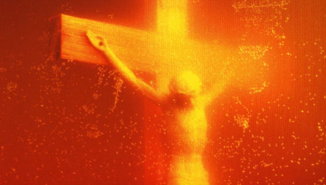 Andres Serrano's 'Piss Christ'