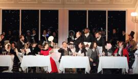 Parisians unwind in Puccini's La Bohème. Photo: Catherine Ashmore
