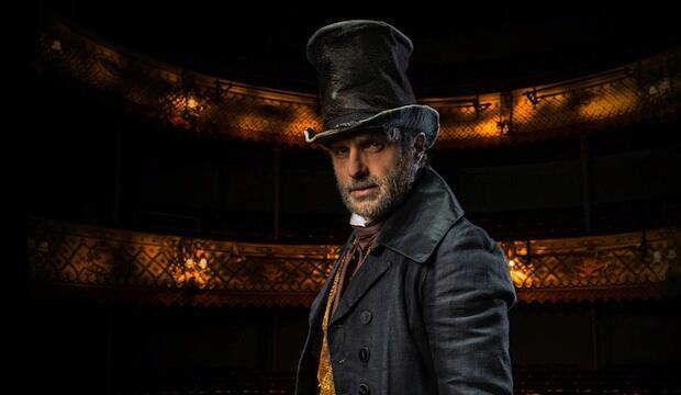 Andrew Lincoln (Scrooge) in The Old Vic's 2020 A Christmas Carol