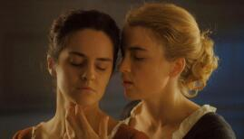 Adele Haenel and Noemie Merlant in Portrait of a Lady on Fire (Photo: Sky / Lilies Films / Hold Up Films & Production / Arte France / Curzon Artificial Eye)