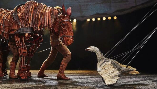 Online theatre: streaming options for staying in (pictured: the National Theatre's War Horse)
