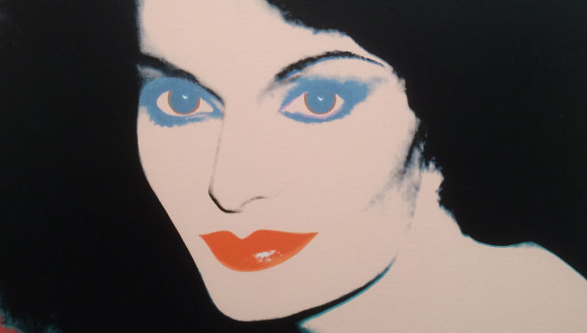 Furstenberg by Andy Warhol
