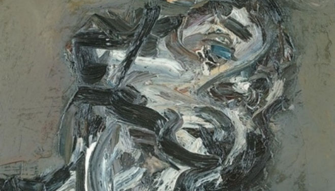 Frank Auerbach Head of J.Y.M ll 1984-85 Painting Oil on canvas 660 x 610 mm Courtesy of Javier Baz and Tate Britain