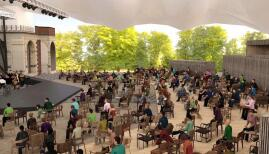 The newly spaced auditorium at Opera Holland Park
