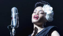 Andra Day in The United States vs Billie Holliday, Sky Cinema (Photo: Sky)
