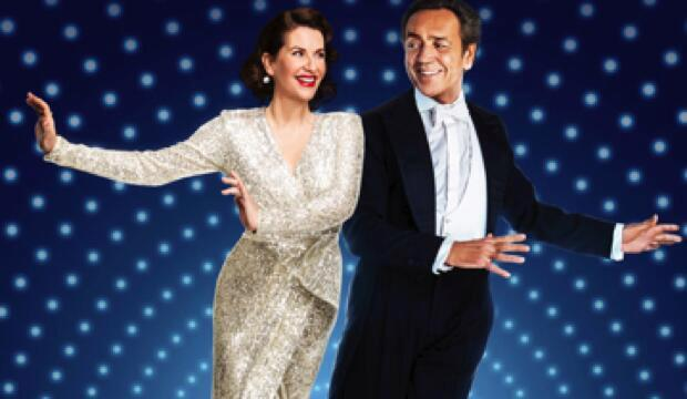 Megan Mullaly and Robert Lindsay.  Anything Goes promotional image