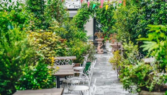 Outdoor terraces for April and beyond. Photo: Circolo Popolare