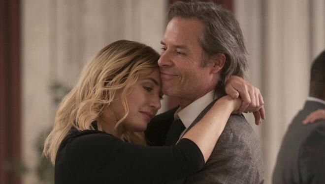 Kate Winslet and Guy Pearce in Mare of Easttown, Sky Atlantic (Photo: Sky/HBO)