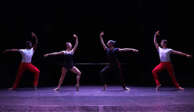 The Barre Project, William Forsythe and Tiler Peck