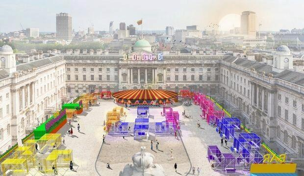 Dodge: an arts-led fairground at Somerset House