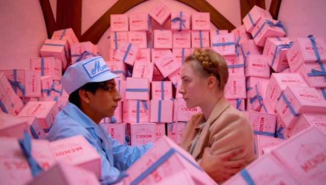 Still from Wes Anderson's 'The Grand Budapest Hotel'