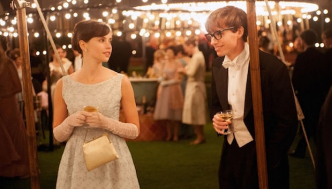 Eddie Redmayne and Felicity Jones star in Hawking biopic A Theory of Everything