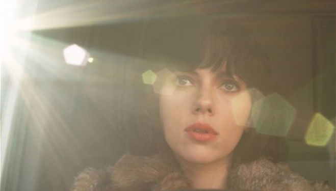 Scarlett Johansson as humanoid alien in Under The Skin