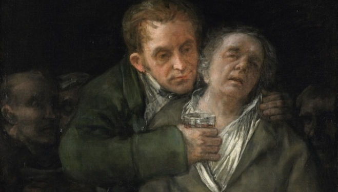 Self Portrait with Doctor Arrieta Francisco de Goya 1820, The Minneapolis Institute of Arts, Minnesota
