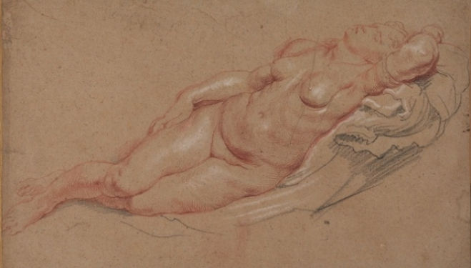 Peter Paul Rubens (1577-1640), Female nude, The Samuel Courtauld Trust, The Courtauld Gallery, London