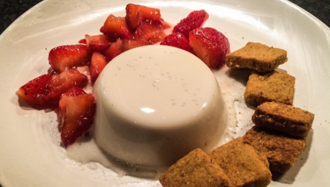 Soothe Suppers Pannacotta