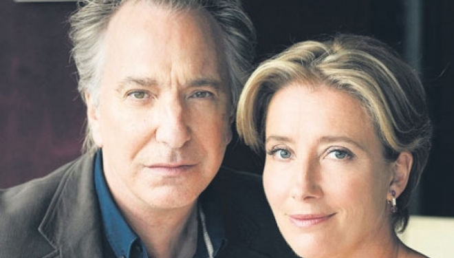 Q&A with Alan Rickman and Emma Thompson, The Tricycle
