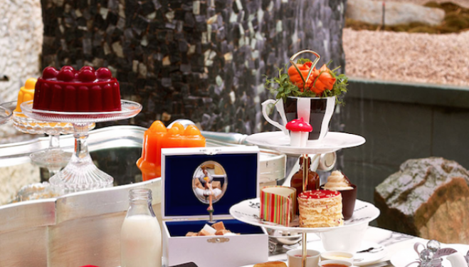 Mad Hatters' Afternoon Tea at the Sanderson