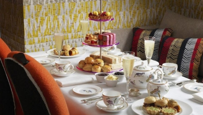 Ham Yard Hotel London Afternoon Tea