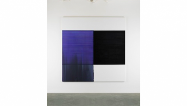 Exposed Painting Blue Violet, 2015 Oil on canvas 235 x 230 cm