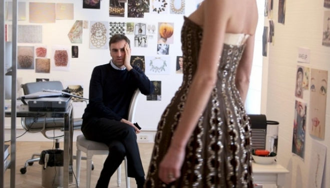 Raf Simons, Dior and I documentary