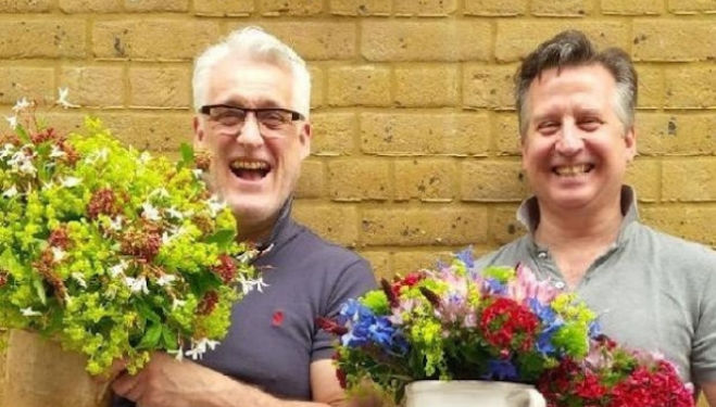 Stephen Wicks and Mark Welford, courtesy of Bloomsbury Flowers