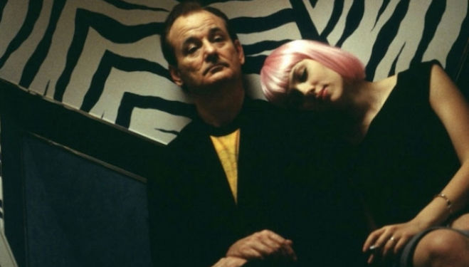 Bill Murray and Scarlett Johansson in Sofia Coppola's stunning 'Lost in Translation' (2003)
