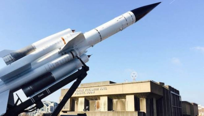 Cold War Missile Launcher, Hayward Gallery: History is Now