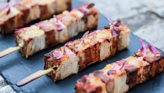 En Brochette skewers