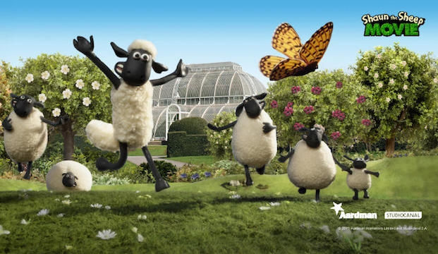 Easter at Kew Gardens with Shaun the Sheep