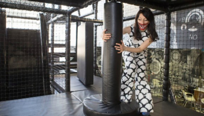 Marvin Gaye Chetwynd in The Idol. Courtesy Emil Charlaff