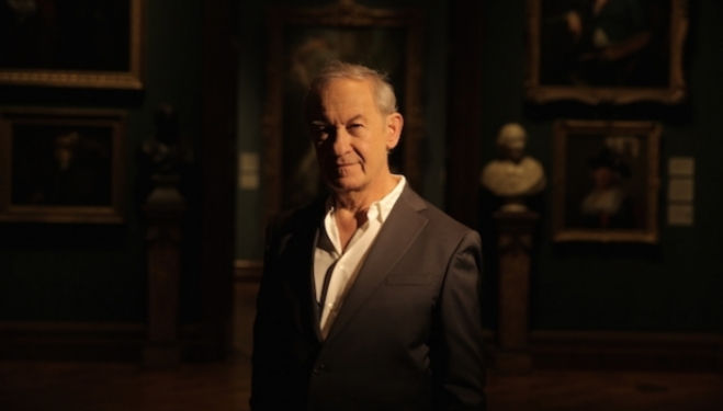 Simon Schama at the National Portrait Gallery, London