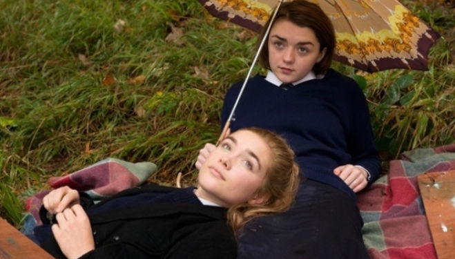 Newcomer Florence Pugh and Game of Thrones' Maisie Williams star in Carol Morley's The Falling