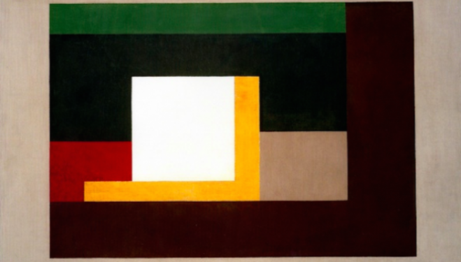 Ben Nicholson, Painting 1939, 1939, courtesy of Connaught Brown