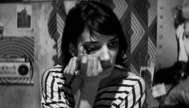 Still from 'A Girl Walks Home Alone At Night'