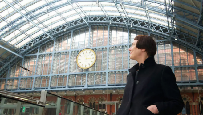 Cornelia Parker, sculpture for St Pancras International Station London