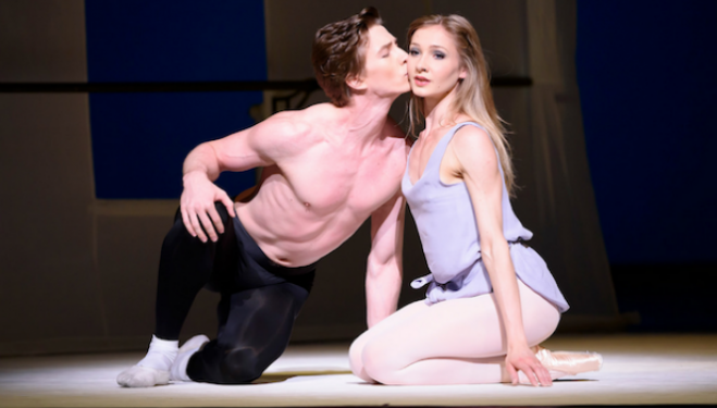 Vadim Muntagirov and Melissa Hamilton © 2015 ROH. Photograph by Bill Cooper