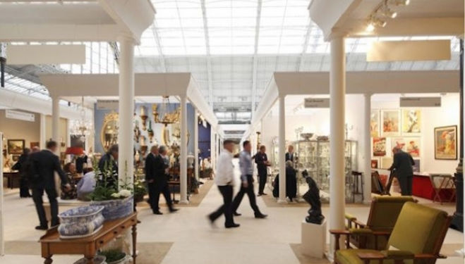 Olympia International Art & Antiques Fair 2015, Olympia London Hammersmith Road