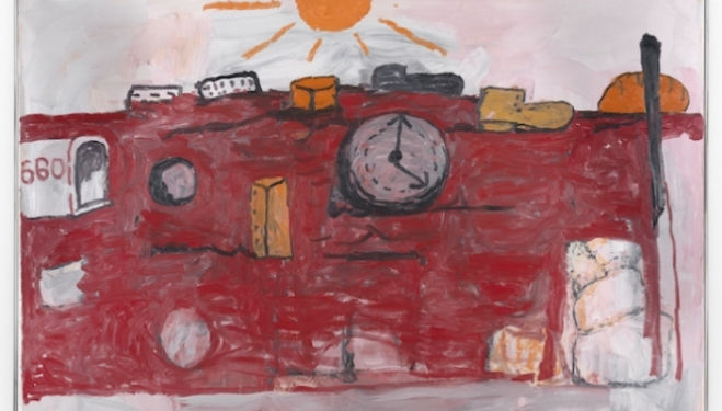 Philip Guston artist, The Hill, 1971 © The Estate of Philip Guston, courtesy Timothy Taylor Gallery, London