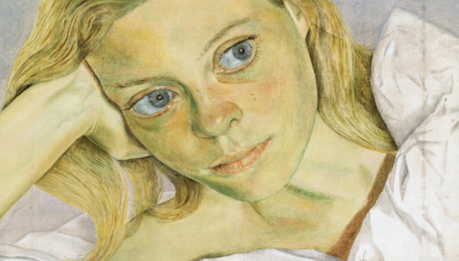 Lucian Freud artist, 'Girl in Bed' (1952), Ordovas gallery London