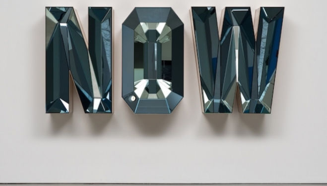 Doug Aitken artist, NOW (Blue Mirror), 2014