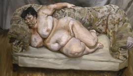 Sue Tilley: Benefits Supervisor Sleeping, 1995 by Lucian Freud. Photograph: Courtesy: Lucian Freud Archive Courtesy: Lucian Freud Archive /Public Domain